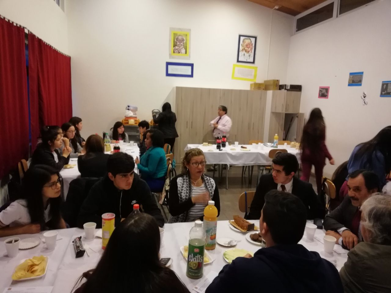 Conversatorio intercultural.