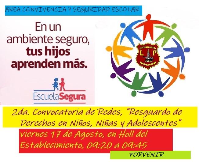 """Con éxito se desarrollo la 2º Convocatoria de Redes """"Resguardo de derecho en niñas, niños y adolescentes"""""""