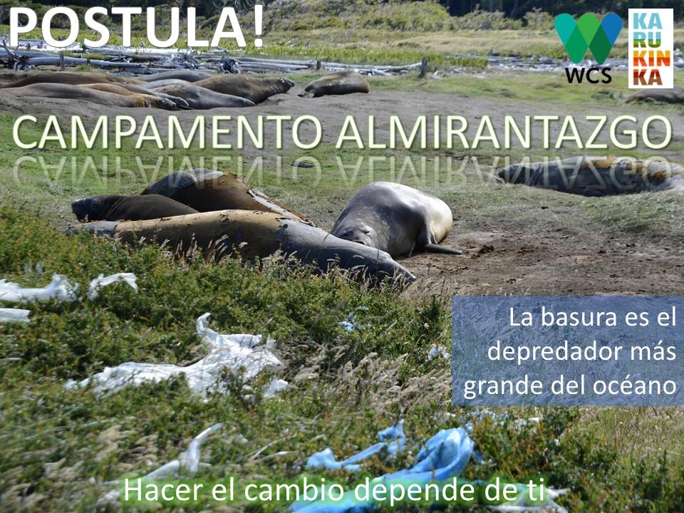 """Wildlife Conservation Society (WSC) invita a estudiantes a participar en el primer  """"CAMPAMENTO ALMIRANTAZGO"""""""